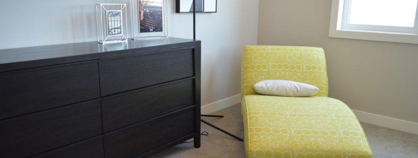 Sideboard Modern in schwarz