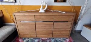 Massivholz Sideboardin Eiche (Vlarenzo)
