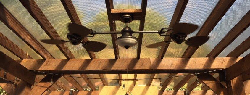 Outdoorküche Dach