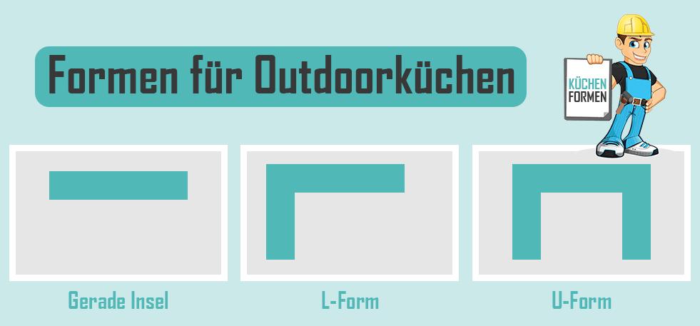 Outdoorküchen Formen