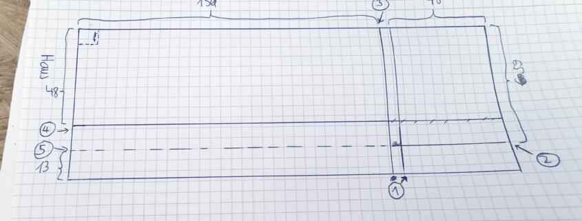 Granitplatte schneiden - Die Schnittplanung