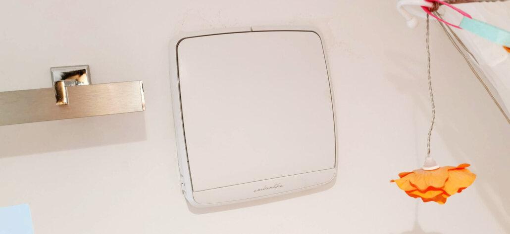 Ambientika Wireless Plus geschlossene Klappe