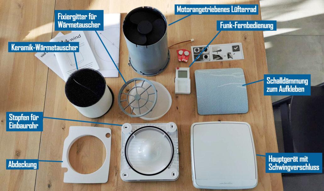 Ambientika Wireless Plus Lieferumfang