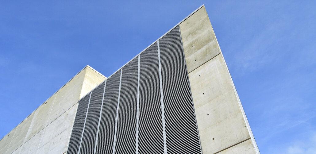 Betonfassade Architektur